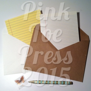 Retro LINED PAPER Greeting Cards